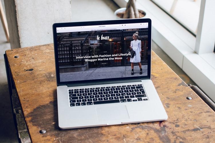 Laptop on Table | Soap Media