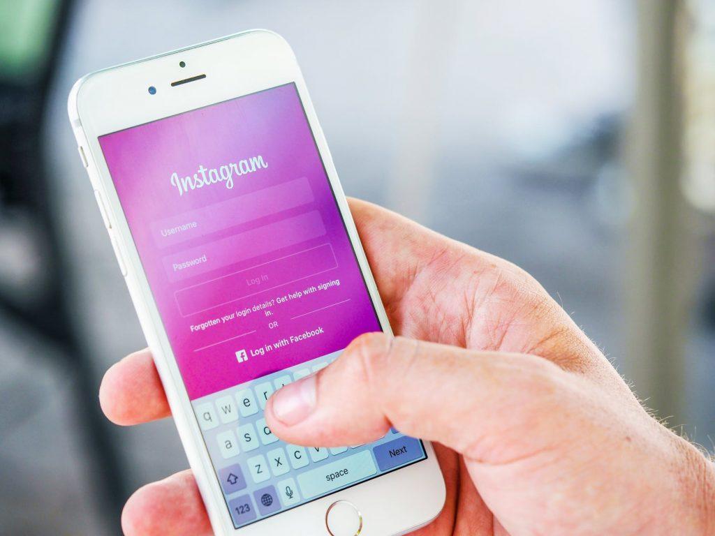 Instagram on Phone | Soap Media