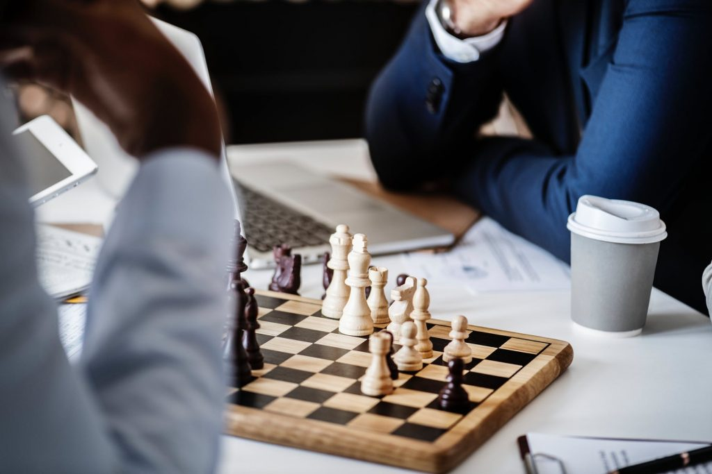 Playing Chess | Soap Media
