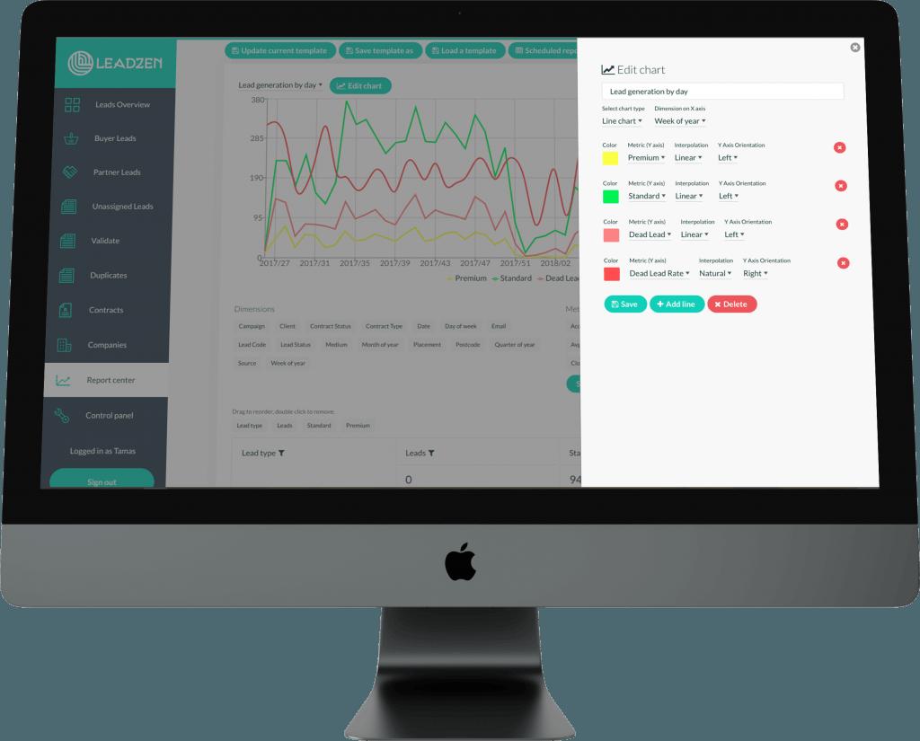 Leadzen Desktop | Bespoke Software Development