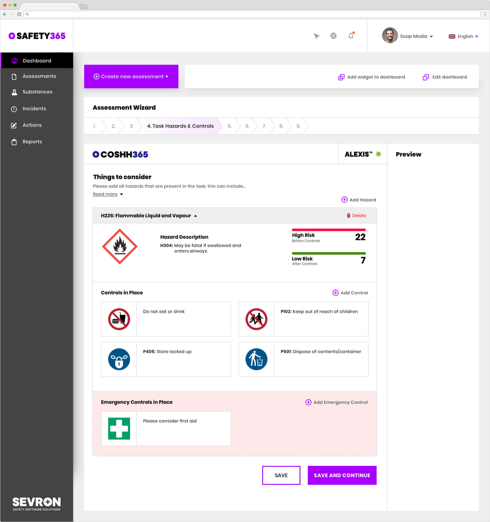 Sevron Dashboard | Software Development Solutions