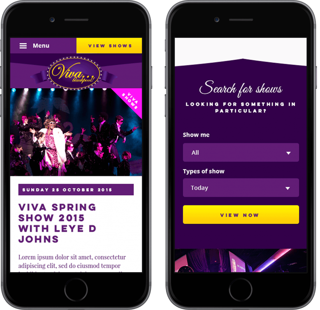 Viva Blackpool — Mobile — iPhone