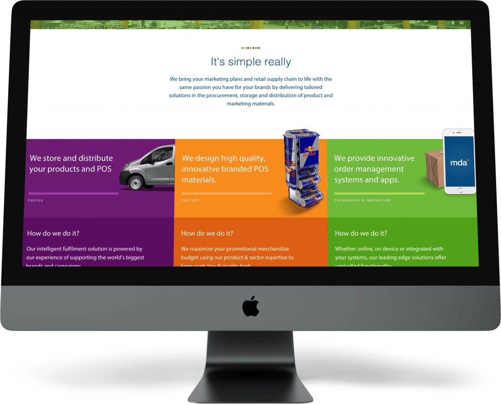 iMac — Front — Content