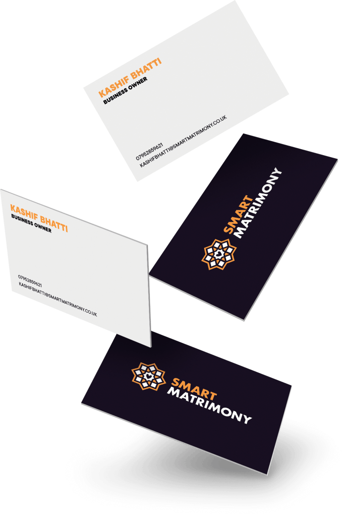 BUSINESS CARDS — Smart Matrimony